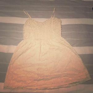 Buckle size S ivory/ white mini dress